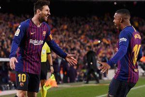 Bảng xếp hạng 5 giải quốc gia hàng đầu châu Âu: Barca thắng Atletico