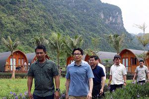 Phó Thủ tướng khảo sát du lịch cộng đồng ở Quảng Bình