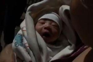 Phát hiện bé trai sơ sinh bị bỏ rơi tại thành phố Cẩm Phả