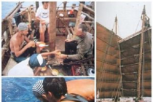 Ký ức khó quên của 'Thanh phượt' người Việt duy nhất vượt Thái Bình Dương bằng bè tre (kỳ cuối)