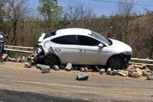 5 xe tông nhau liên hoàn, 3 người bị thương