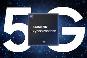 Samsung sản xuất hàng loạt chip modem 5G cho thiết bị di động
