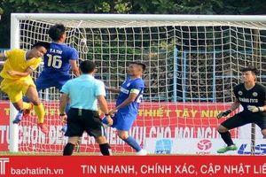 Hồng Lĩnh Hà Tĩnh giành 3 điểm đầu tiên tại giải hạng Nhất quốc gia 2019