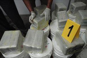 Hơn 130 kg cocaine trôi dạt vào bờ Biển Đen