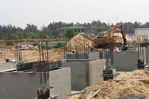Vụ xây dựng khu đô thị số 6: Điện Bàn chưa có quyết định xử phạt