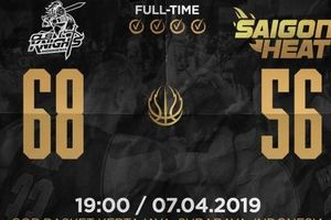 Dứt điểm thiếu hiệu quả, Saigon Heat lỗi hẹn với vòng bán kết ABL 9
