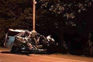 Xe tải đối đầu xe khách trên QL20: 3 người chết, 1 người bị thương