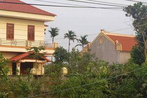 Thanh Hóa: Bố mẹ đẻ Bí thư Huyện ủy Quảng Xương xây dựng công trình trái phép trên đất lúa