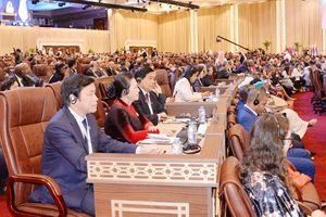 Chủ tịch Quốc hội dự khai mạc IPU - 140 tại Qatar
