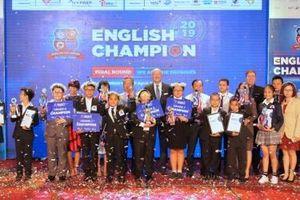 English Champion 2019 tìm ra 5 quán quân xuất sắc đại diện thế hệ iGen