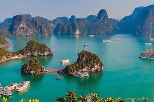 Vịnh Hạ Long nằm trong nhóm 35 kỳ quan thiên nhiên đẹp nhất thế giới