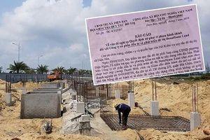 Khó xử một vụ xây biệt thự ở Quảng Nam