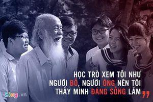 Công chiếu phim 'Ông Đồ gàn' về nhà giáo Văn Như Cương