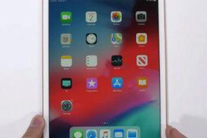 iPad Mini 2019 dù dễ bẻ cong nhưng vẫn chạy 'ngon'