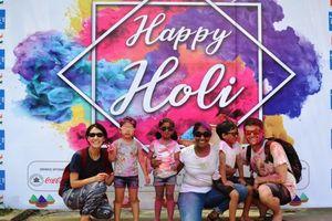 Holi 2019 - Độc đáo Lễ hội Sắc màu của Ấn Độ giữa lòng Hà Nội