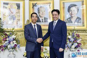 Lãnh đạo Bộ Ngoại giao chúc mừng Tết cổ truyền Campuchia
