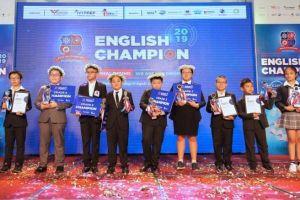 Đã tìm ra quán quân cuộc thi Vô địch Tiếng Anh English Champion 2019