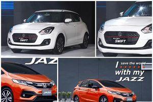 Nên mua Honda Jazz 2019 hay Suzuki Swift 2019?