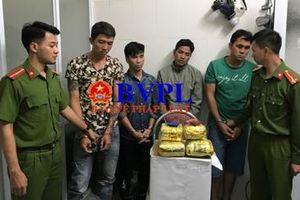 Bắt 4 đối tượng thu gần 6kg ma túy đá ở 'đất lửa' Sơn La