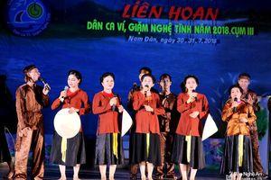 Dân ca ví, giặm sẽ tham gia chương trình nghệ thuật tại Lễ hội đền Hùng 2019