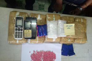 Chặn đứng vụ vận chuyển 40.000 viên ma túy từ Lào về Việt Nam