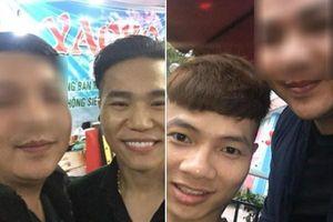 Châu Việt Cường và Khá Bảnh xộ khám sau khi chụp ảnh với chàng trai này