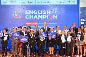 Lộ diện 5 học sinh xuất sắc nhất cuộc thi English Champion 2019