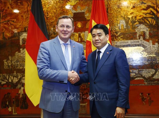 Hà Nội thúc đẩy mối quan hệ hợp tác với bang Thüringen, Đức