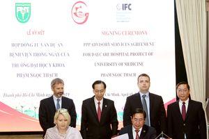 IFC lập HSMT chọn nhà đầu tư Dự án PPP Đại học Y Phạm Ngọc Thạch