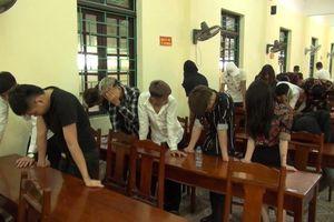 Gần 70 thanh niên bay lắc trong quán karaoke tại Hưng Yên