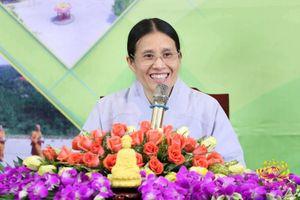 Facebook gỡ tài khoản của bà Phạm Thị Yến chùa Ba Vàng