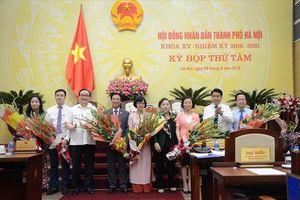 Hội đồng Nhân dân TP Hà Nội: Miễn nhiệm, kiện toàn 7 chức danh