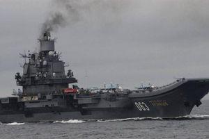 Nga lên tiếng về số phận tàu Đô đốc Kuznetsov