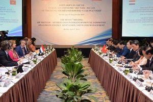 Việt Nam, Hà Lan tăng cường hợp tác thích ứng biến đổi khí hậu và quản lý nước