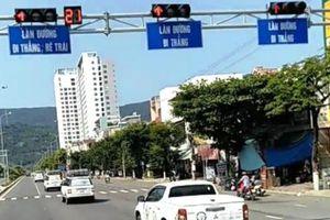 Đoàn ô-tô ngang nhiên vượt đèn đỏ trên đường Ngô Quyền (Đà Nẵng): Sẽ xử lý nghiêm