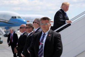 Loạt hình ảnh cực ngầu về mật vụ Mỹ bảo vệ ông Trump