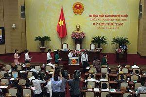 HĐND TP Hà Nội miễn nhiệm, bầu một loạt các chức danh