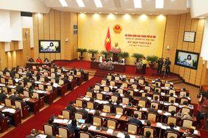 HĐND thành phố Hà Nội họp bất thường về công tác nhân sự