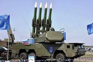 Dàn tên lửa và pháo phòng không Nga đồng loạt khai hỏa, hạ kẻ địch trong chớp mắt