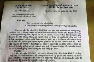 Nghi vấn bắt cóc trẻ em ở Nghệ An, chính quyền xã ra công văn cảnh báo