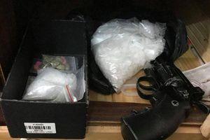 Triệt phá đường dây mua bán trái phép chất ma túy có trang bị súng ngắn