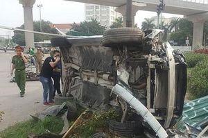 Vụ xe Mercedes gây tai nạn liên hoàn ở Hà Nội: Một nạn nhân đang nguy kịch