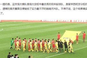 Báo Trung Quốc cảm thấy xấu hổ khi đội nhà để thua tuyển U17 của Việt Nam