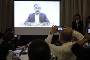 Cựu chủ tịch Nissan lần đầu lên tiếng trong video quay trước khi bị bắt lại