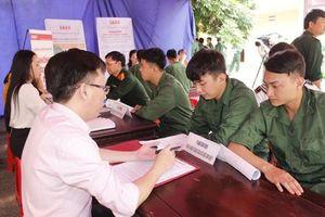 Tam Điệp tổ chức lễ đón nhận, tư vấn, giới thiệu việc làm cho quân nhân hoàn thành nghĩa vụ quân sự trở về địa phương