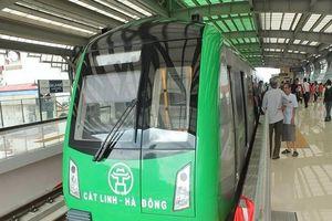 Miễn phí cho toàn bộ hành khách 15 ngày đầu đi tuyến đường sắt đô thị Cát Linh - Hà Đông