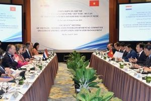 Việt Nam - Hà Lan:Tăng cường hợp tác trong lĩnh vực biến đổi khí hậu và quản lý nước