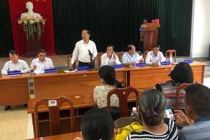 Mua đất không sổ đỏ: Chủ tịch UBND tỉnh Quảng Nam tiếp dân đột xuất