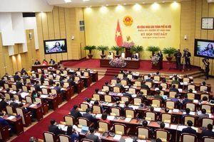 Sáng 9-4, khai mạc kỳ họp thứ tám - kỳ họp bất thường HĐND TP Hà Nội