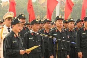 Bộ Tư lệnh Cảnh sát cơ động báo công dâng Bác